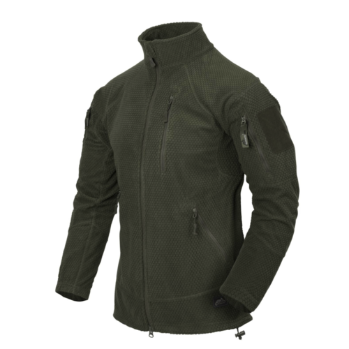 Helikon-Tex Alpha Tactical Jacket Grid Fleece Olive