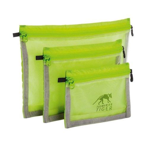 Tasmanian Tiger TT Mesh Pocket Set Mesh Bag Set Safety Yellow