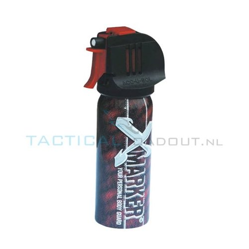 X-Marker Zelfverdedigingsspray (Smurfenspray)