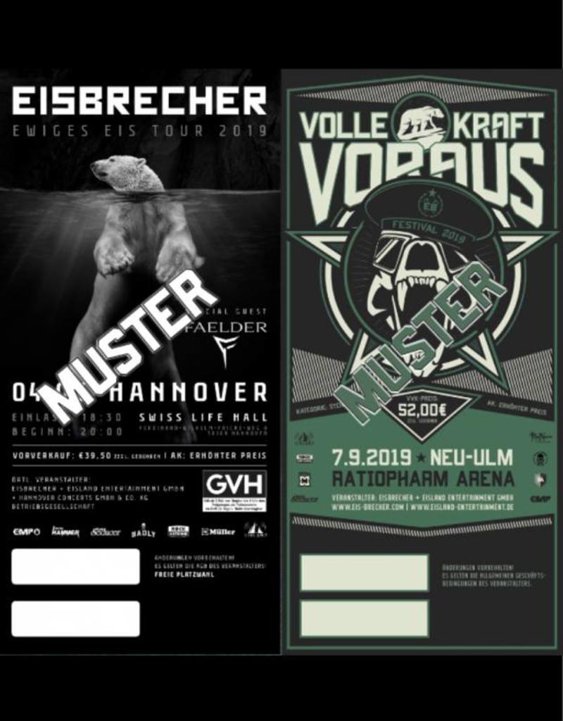 COMBITICKET EWIGES EIS TOUR 2019 HANNOVER + VKV FESTIVAL 2019