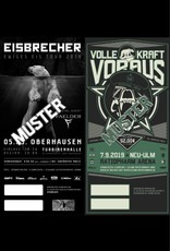 KOMBITICKET EWIGES EIS TOUR 2019 OBERHAUSEN + VKV FESTIVAL 2019