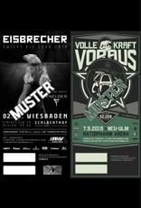 COMBITICKET EWIGES EIS TOUR 2019 WIESBADEN + VKV FESTIVAL 2019