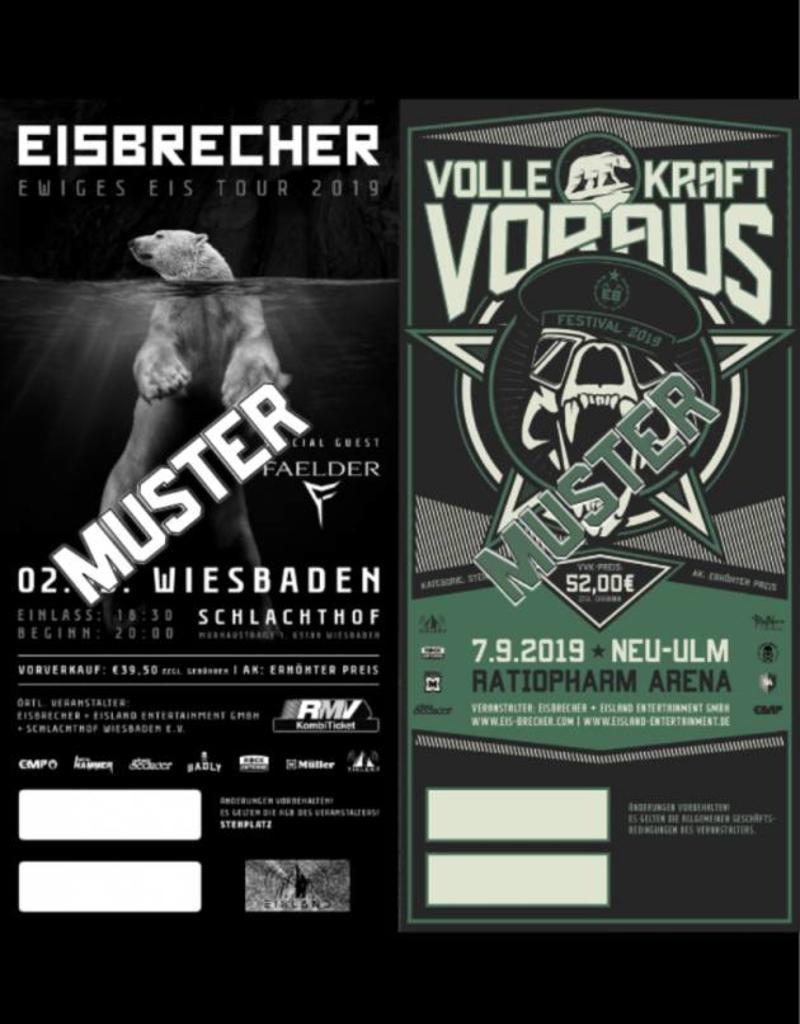 KOMBITICKET EWIGES EIS TOUR 2019 WIESBADEN + VKV FESTIVAL 2019