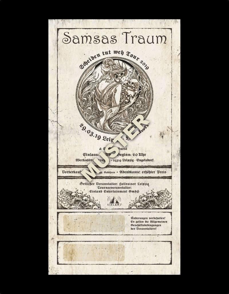 """LEIPZIG - SAMSAS TRAUM """"SCHEIDEN TUT WEH TOUR 2019"""""""