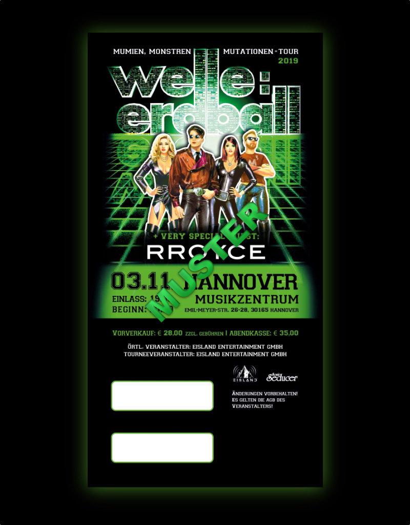 WELLE:ERDBALL TOUR 2019 - 03.11.2019 - HANNOVER