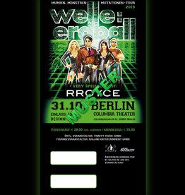 31.10.2019 - BERLIN - WELLE:ERDBALL *