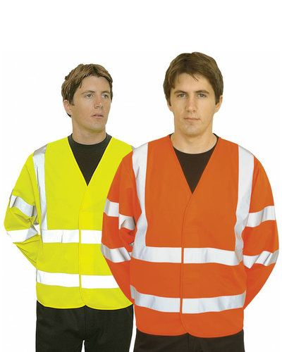 Portwest C473 Hesje met mouwen, oranje of geel