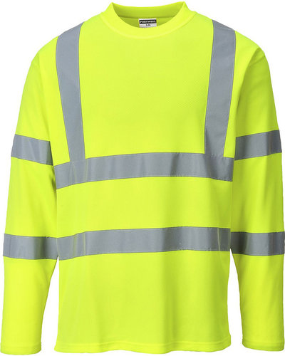 Portwest S278 High Visibility T-shirt met lange mouw