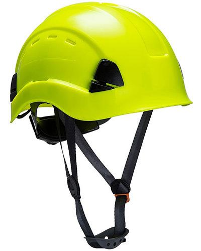 Portwest PS63 Veiligheidshelm met kin bescherming en ventilatiegaten