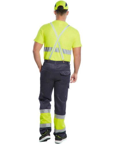 Portwest Gele bretels met reflectiestrepen