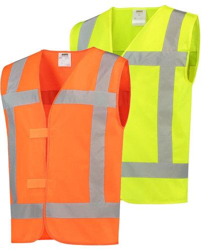 Tricorp V-RWS veiligheidsvest geel of oranje