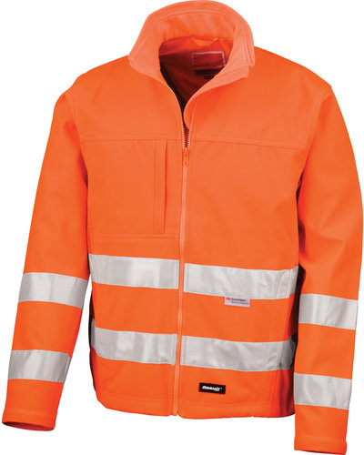 Result High-Vis Softshell Jack