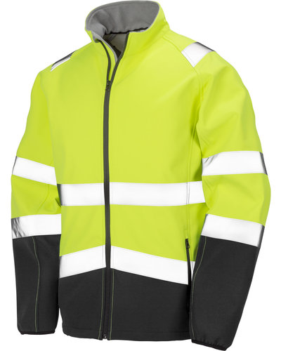 Result Hi-Vis Softshell Jack Bi-Color