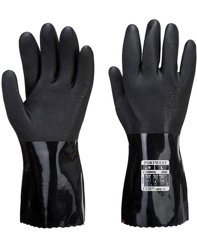 Portwest A882 Chemiebestendige en ESD veilige PVC handschoenen