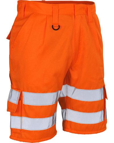 Mascot Werkshort Pisa oranje
