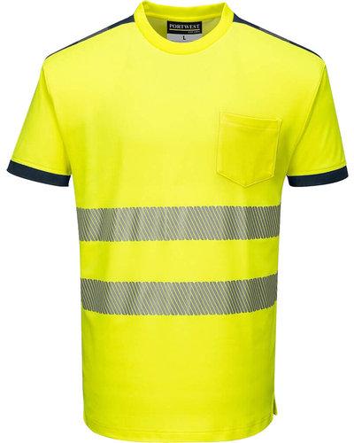 Portwest PW3 Hi-Vis T-Shirt Vision, korte mouwen