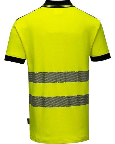 Portwest PW3 Hi-Vis Poloshirt, korte mouwen