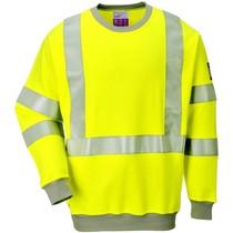 Portwest FR72 Vlamvertragend Antistatisch Hi-Vis Sweater