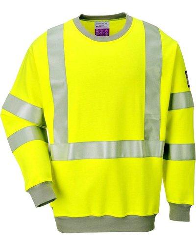 Portwest FR72 Vlamvertragend Antistatisch Hi-Vis Sweatshirt