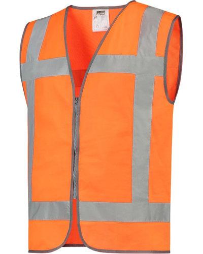 Tricorp RWS veiligheidsvest met rits, geel of oranje