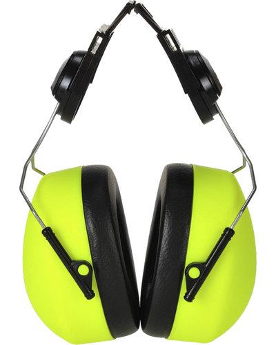 Portwest PS42 Clipp-on Oorkap in hi-vis kleur
