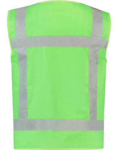 Tricorp Reflectie Vest Lime in 4 maten leverbaar