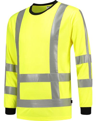 Tricorp RWS Birdseye T-shirt met lange mouwen in geel of oranje