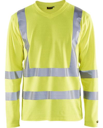 Blaklader Hi Vis T-Shirt lange mouwen UPF 50+