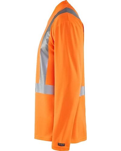 Blaklader High vis T-Shirt Lange mouw in oranje
