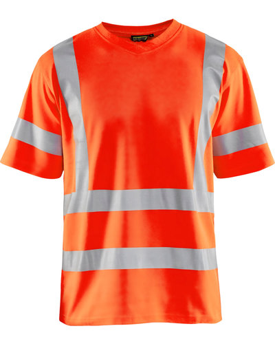 Blaklader Blaklader High Vis t-shirt UPF met striping