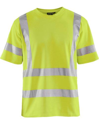 Blaklader Hi Vis T-shirt UPF geel of oranje