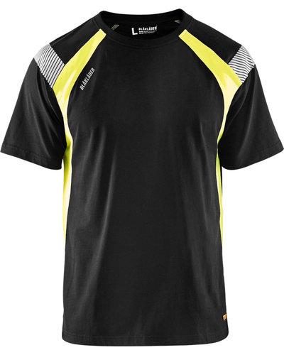 Blaklader 3332 T-shirt Visible werk t-shirt met enkele reflectie elementen
