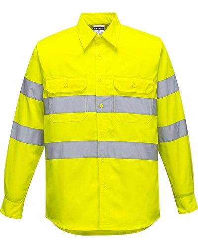 Portwest Hi-Vis Geel Overhemd