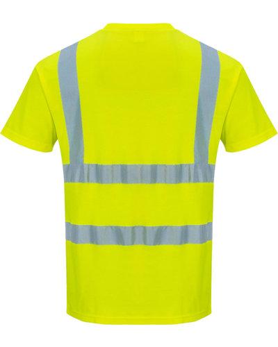 Portwest S478 Hi-Vis Geel T-shirt voor de zomer