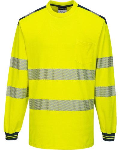 Portwest PW3 Hi-Vis T-Shirt Vision, lange mouwen