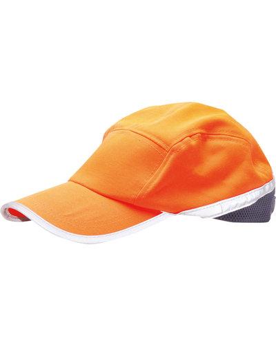 Portwest Hi Vis Baseball Cap model HB10 in Oranje of Geel