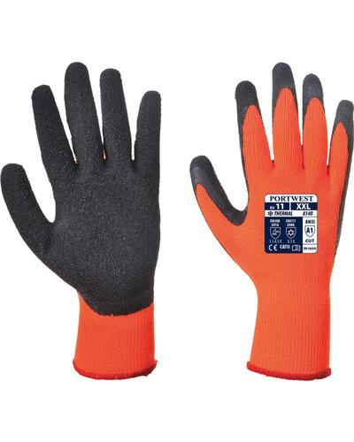 A140 Thermische Handschoen met latex grip