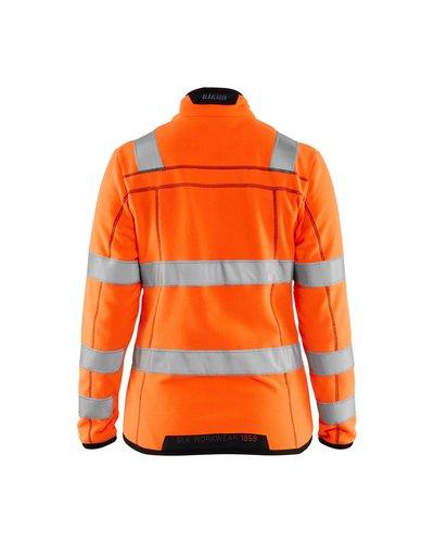 Blaklader 4966 Dames Microfleece Vest High Visibility