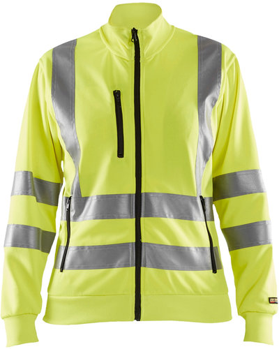 Blaklader 3308 Dames Sweatshirt, High Visibility