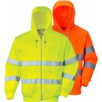 Portwest Hi-Vis Hoody met Rits B305, geel of oranje