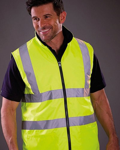 Bodywarmer High Visibility