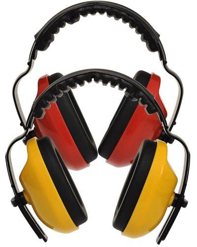 Portwest PW48 Klassieke + Oorkappen in het geel of rood