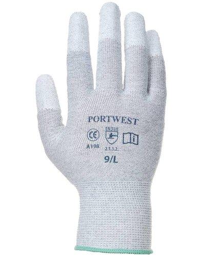 Portwest A198 ESD Handschoenen PU Vingertop