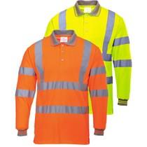 Portwest S277 Poloshirt High Visibility met lange mouwen