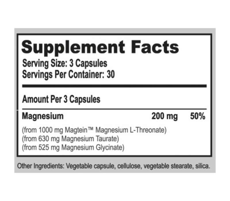 MagTech™ - MAGNESIUM COMPLEX - 90 Kapseln