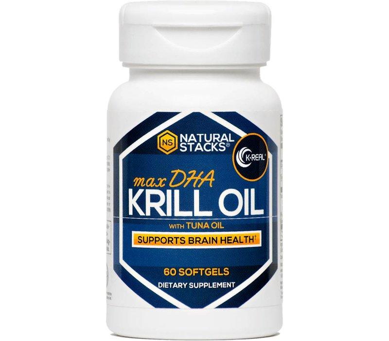 Antarktisches Krillöl mit 1.5 mg Astaxanthine - 60 Kapseln