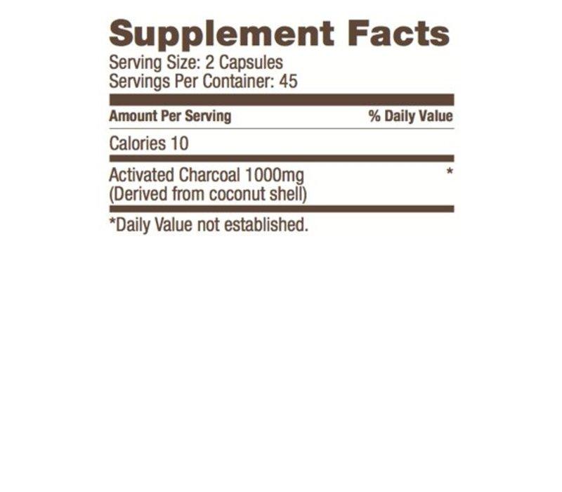 Coconut Charcoal | 90 Caps