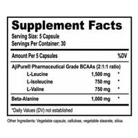 Natural BCAAs™ - 150 Kapseln