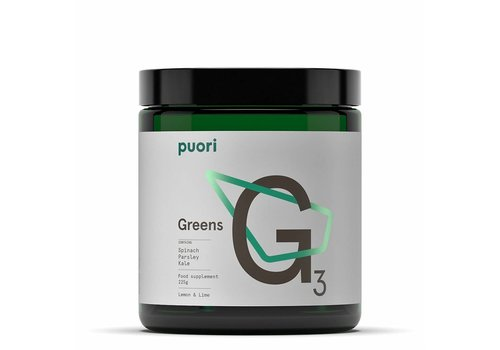 Puori G3 Greens - Lemon & Lime