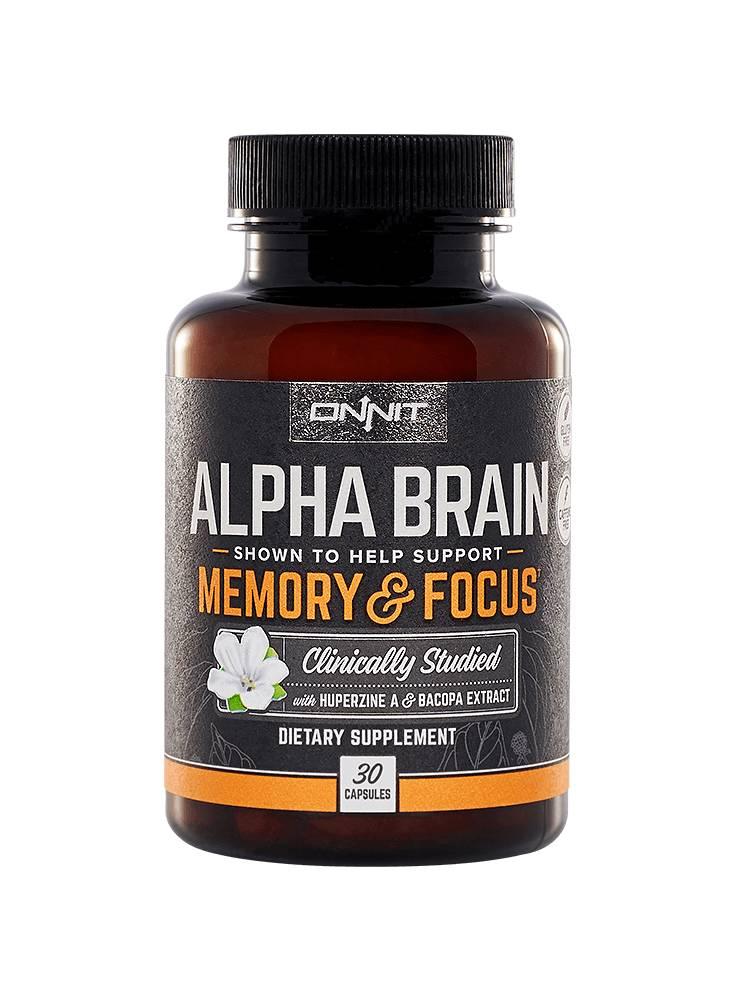 Onnit Alpha Brain 30 Kapseln Nootrofit